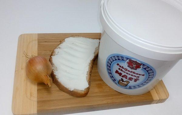 Bravčová škvarená masť voľná 1900