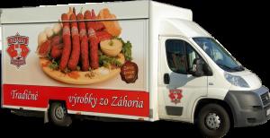 mobilná predajňa mäsa